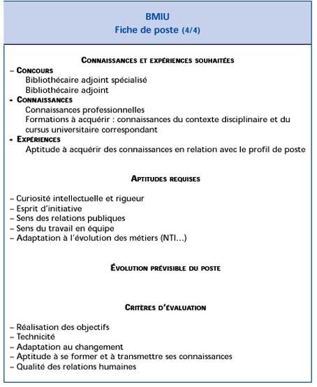 L'évaluation des compétences et des personnels | Bulletin ...