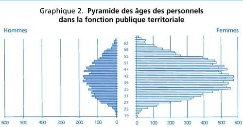 Graphique 2 Pyramide Des Ages Des Personnels Dans La Fonction