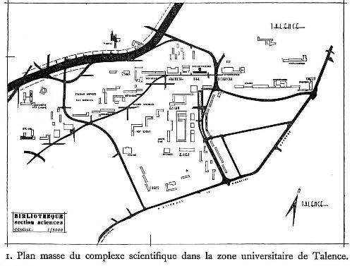 Carte Universite De Bordeaux.Nouvelle Section Des Sciences De La Bibliotheque De L Universite De