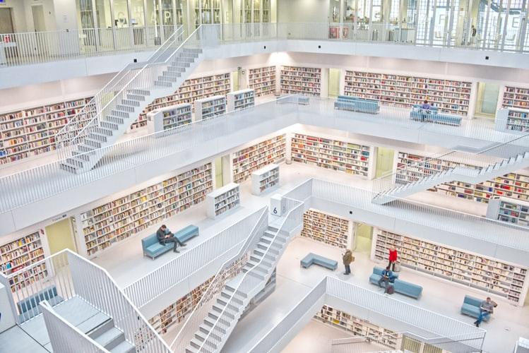 Bibliothèque - Flickr