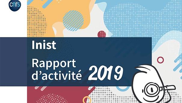 Page de garde - rapport de l'INIST 2019