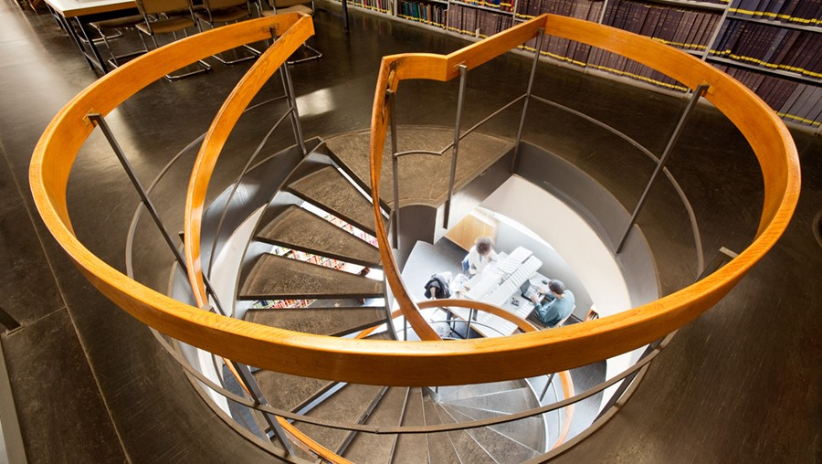 Spirale / Bibliothèque nationale d'Israël / Wikimédia commons