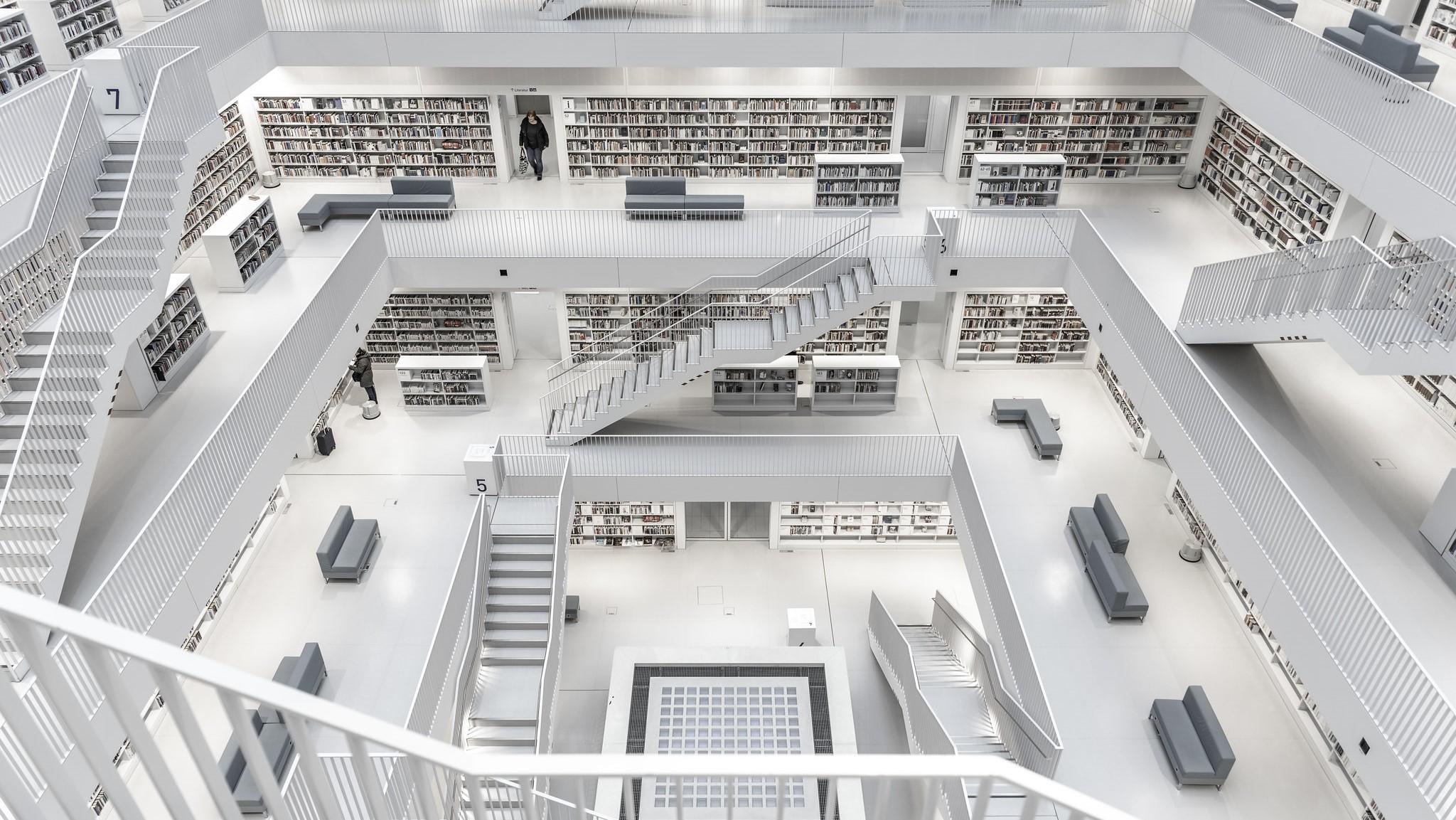 Bibliothèque publique de Stuttgart - Stephen Pham - Flickr